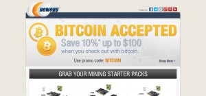 You can pay at newegg with bitcoin